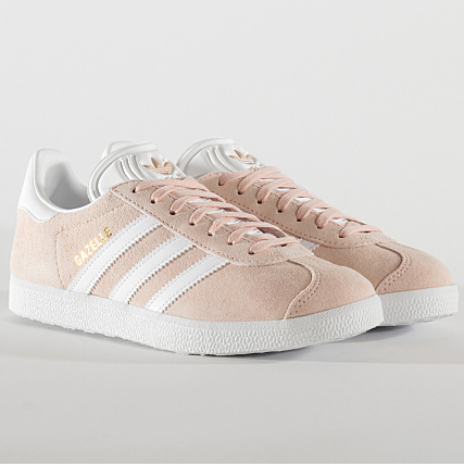 adidas Baskets Femme Gazelle BB5472 Vapor Pink White Gold