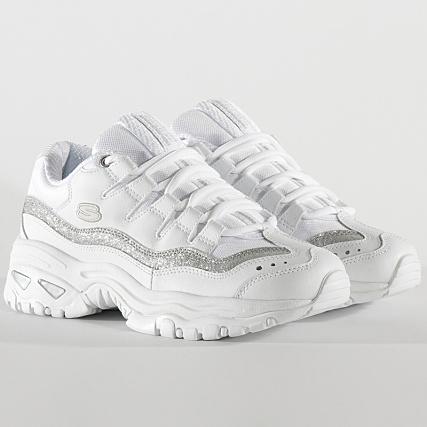 Skechers Baskets Femme Energy Metal Wave 13415 White