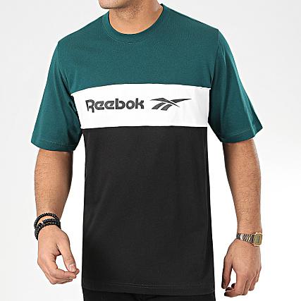 reebok classic t shirt bleu Boutique officielle Soldes