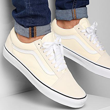 Vans Baskets Old Skool A4U3BFRL1 Classic White True White