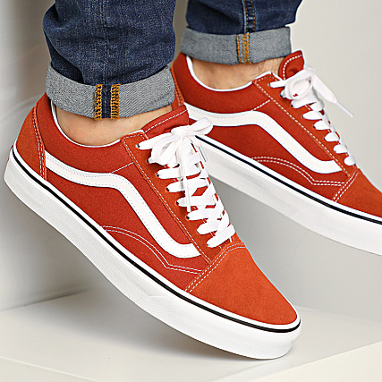 Old Baskets True White Vans Skool Picante A4U3BWK8 DH9YWE2I