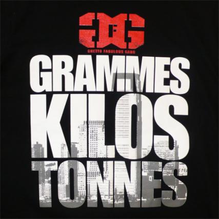 grammes kilos tonnes mixtape