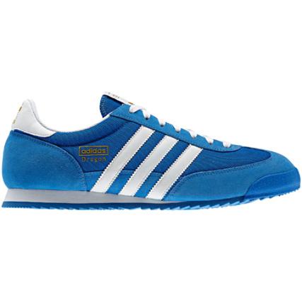 Bandes Adidas Bleu Dragon Baskets Blanc AZgFxnW