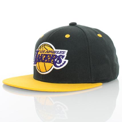 Casquette Nba Noir Lakers Snapback Los Angeles Adidas OOFwZnC
