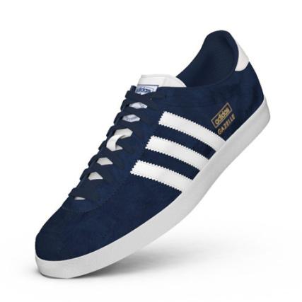 adidas gazelle og bleu