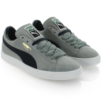 White Navy Classic Puma Gold Gray Suede Baskets BwXqPZ