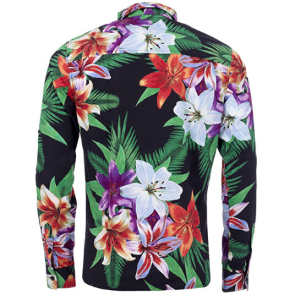 Chemise Unkut Hawai Floral Noir Laboutiqueofficielle Com