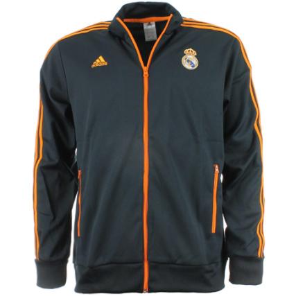 Madrid Real Noir Veste Adidas Top Q11ixr Co Zippée Trk TAYxv