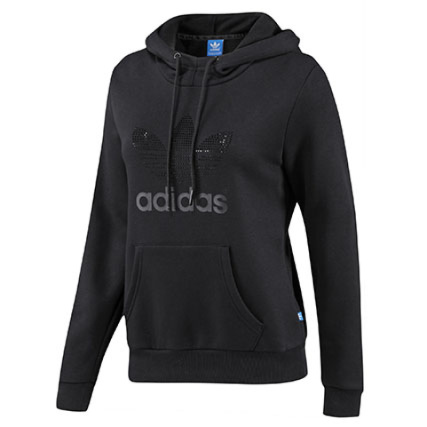 7742aa054dfad Sweat Capuche Femme Adidas Trf Hoodie Rs Noir - LaBoutiqueOfficielle.com