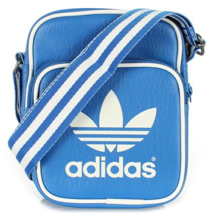 Sacoche Minibag M30538 Bleu Azur Adidas Blanc HHrBqYw