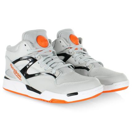 Pump Omni Steel Reebok Baskets White Orange Swag Lite Black wxZfH