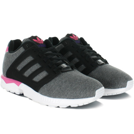 Baskets Femme adidas ZX Flux 2.0 Noir Noir Rose - LaBoutiqueOfficielle.com