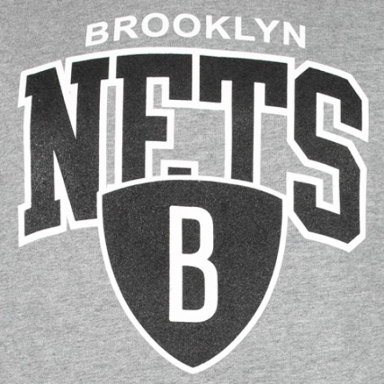 Team Sweat And Brooklyn Ness Gris Arch Nets Capuche Mitchell OOrvI