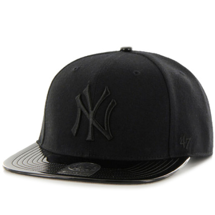 c82d5550a1d Casquette Snapback 47 Brand Shinedown New York Yankees Noir Noir -  LaBoutiqueOfficielle.com