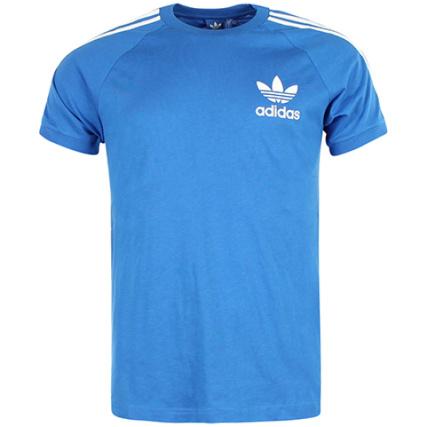 Bleu Tee Originals Sport Adidas Shirt Azur CqFIwFcYgx