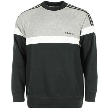 Noir Crewneck Itasca Adidas Sweat Gris Crew nZw4RwIvS