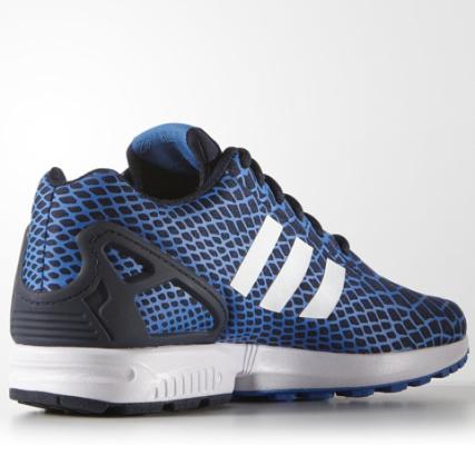 Home > adidas > Baskets - Chaussures > Baskets Basses > Baskets adidas ZX Flux Techfit Bleu Azur