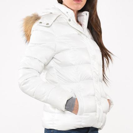 Blanc Femme Minka Doudoune Doudoune Femme Kaporal 8q6nFOX4