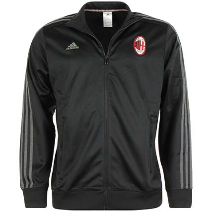 Ac Adidas Zippée Veste Milan Noir Aa1708 wU7xHqPv