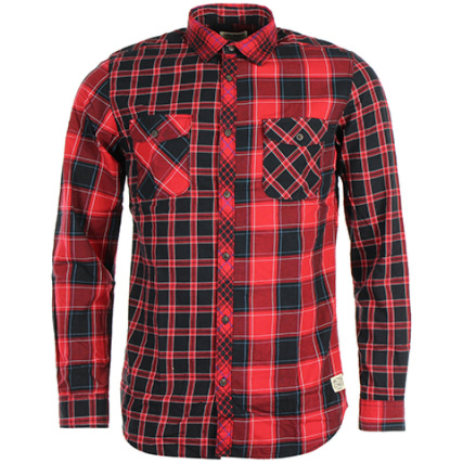 Patch Chemise Jones Carreaux Noir Rouge And Jack qFEZtt