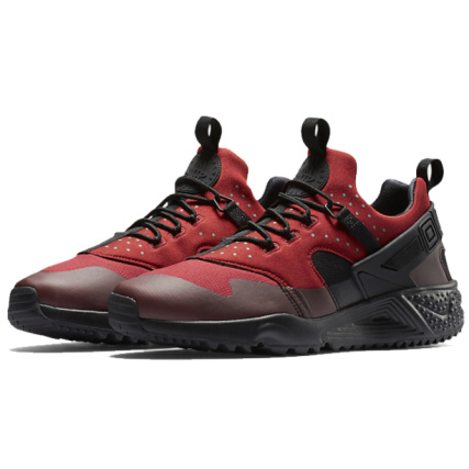 Huarache Nike Baskets Rouge Gym Air Utility Noir EEFwqOC