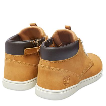 Groveton Timberland Chaussures Leather Enfant Marron Chukka qnn7ZwxgCE