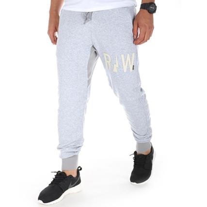 G-Star - Pantalon Jogging Sarouel Netrol Gris Chiné -  LaBoutiqueOfficielle.com 79ae2495fc9