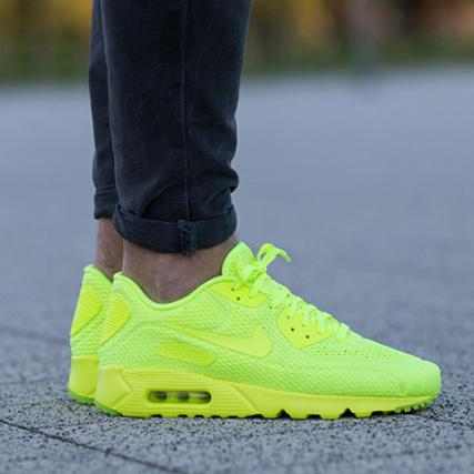 air max 90 jaune fluo