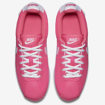 ba1014c4ab00e Home   Nike   Baskets - Chaussures   Baskets Basses   Nike - Baskets Enfant  Cortez Nylon Rose Fluo