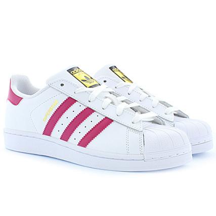 adidas Baskets Femme Superstar Foundation B23644 Footwear Blanc