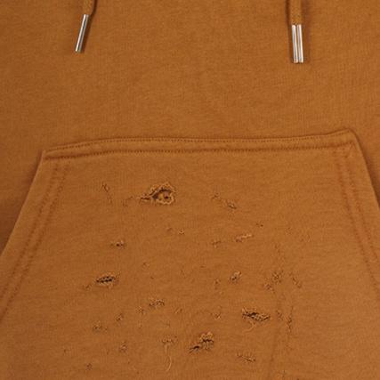 8200ad4a19bb4 Home   Sixth June   Sweats - Pulls   Sweats Capuche   Sixth June - Sweat  Capuche Manches Courtes Oversize M1881CSW Camel
