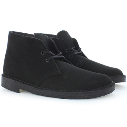 Originals Desert Clarks Boot Black Shoes 611HqUw