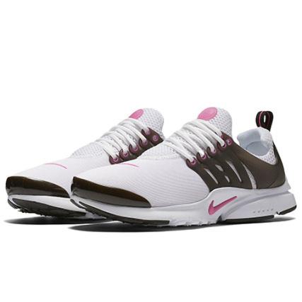 Nike - Baskets Femme Presto 833878 105 White Black Pink Blast - LaBoutiqueOfficielle.com