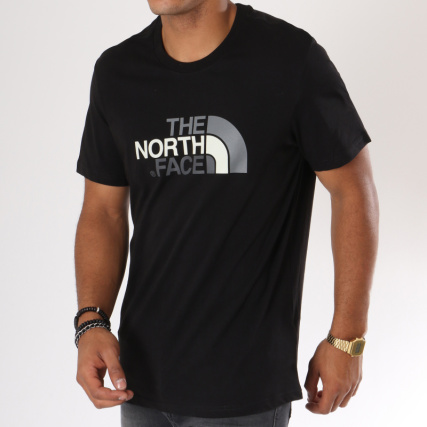 The North Face - Tee Shirt Easy Noir - LaBoutiqueOfficielle.com d6570d278f4