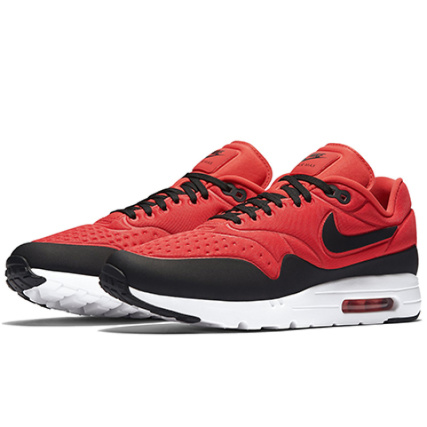 Nike Baskets Air Max 1 Ultra SE 845038 600 Action Rouge Noir Action