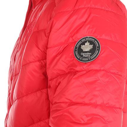 Canadian Peak Basic Rouge Doudoune Canadian Doudoune Peak r8rBwqUz df84d7d0e21f