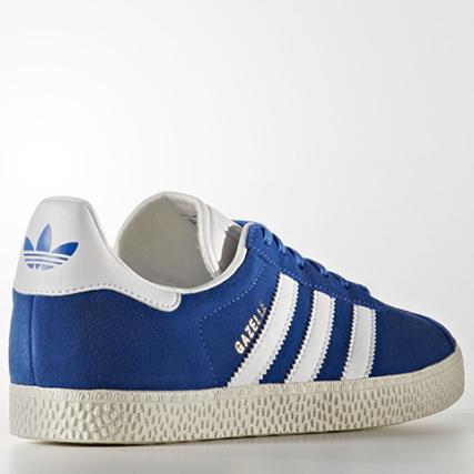 Gazelle White Bb2501 Footwear Baskets Femme Blue Adidas Gold nWYAE6O
