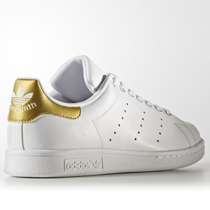 Home > adidas > Baskets - Chaussures > Baskets Basses > adidas - Baskets Femme Stan Smith BB0209 Footwear White Gold Metallic