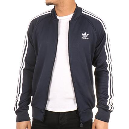 Bk5919 Adidas Bleu Marine Zippée Sst Veste 8awqat1