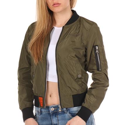 Bomber Original Wa1 Vert Femme Kaki Bombers xzq0wp 6120eb77ee23