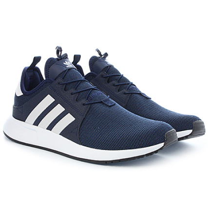 adidas Baskets X PLR BB109 Collegiate Navy Footwear Blanc Core