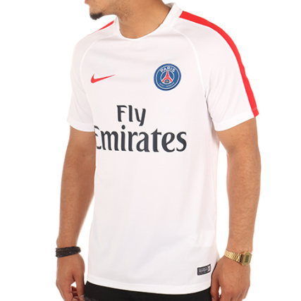Nike Tee Shirt Paris Saint Blanc Germain 809736 Blanc Saint 26c9bd