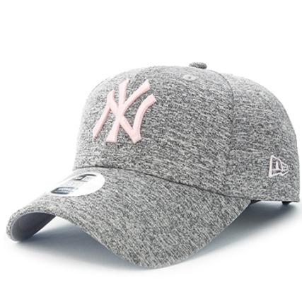 New Era - Casquette Femme Tech Jersey 9 Forty MLB New York Yankees Gris  Chiné Rose - LaBoutiqueOfficielle.com c802e929ea6e