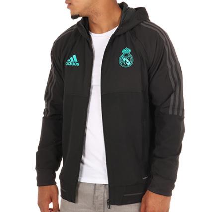 adidas - Coupe Vent Real Madrid BQ7867 Noir - LaBoutiqueOfficielle.com 0e24c63099bd