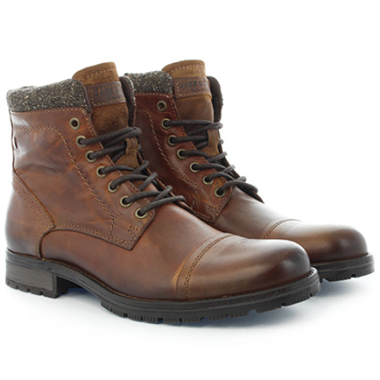 Jack Marly And Jones Chaussures Marly Jack Leather Cognac cfa1b6
