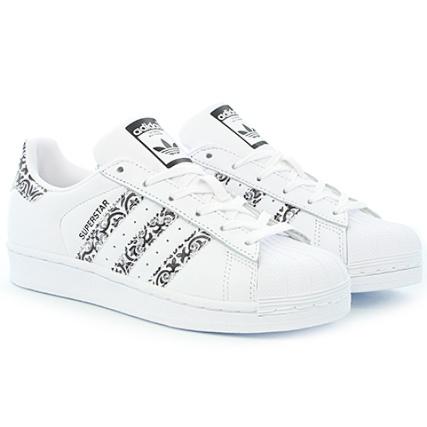 adidas - Baskets Femme Superstar CP9628 Footwear White Core Black - LaBoutiqueOfficielle.com