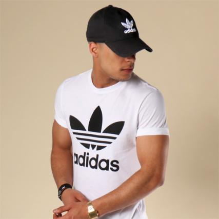 Home > adidas > Casquettes > Casquettes de Baseball > adidas - Casquette Trefoil BK7277 Noir
