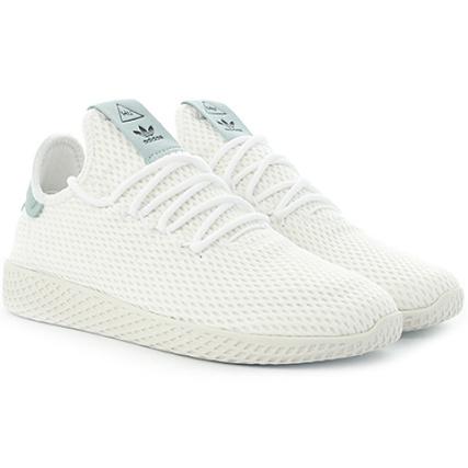 adidas Baskets Tennis HU Pharrell Williams BY8716 Footwear Blanc
