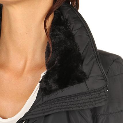 ed526e78a270 Noir Moda Femme Boos Clarissa Doudoune Vero Fourrure Yd70Yq