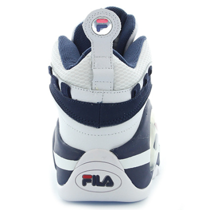 Red White Fila 1vb90149 Bubbles Navy Mid Baskets aqxf7wY1